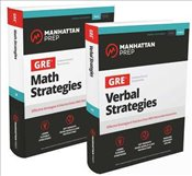 GRE Math and Verbal Strategies Sets :  Effective Strategies & Practice from 99th Percentile Instruct -