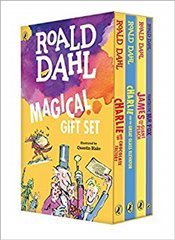 Roald Dahl Magical Gift Set (4 Books): Charlie and the Chocolate Factory, James and the Giant Peach, - Dahl, Roald