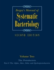 Bergeys Manualof Systematic Bacteriology : Volume 2 - Kolektif