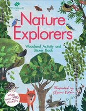Nature Detectives Woodland Activity and Sticker Book - Robin, Clover