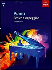 ABRSM Piano Scales and Arpeggios : Grade 7 -