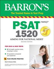 Barrons PSAT/NMSQT 1520 with Online Test  - Stewart, Brian W.