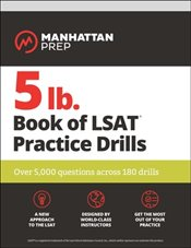 5 lb. Book of LSAT Practice Drills : Over 5,000 questions across 180 drills   -