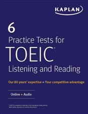6 Practice Tests for TOEIC Listening and Reading : Online + Audio   -