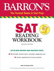 Barrons SAT Reading Workbook  - Stewart, Brian W.