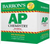 Barrons AP Chemistry Flash Cards 3e - Jespersen, Neil D.