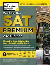 Cracking the SAT with 8 Practice Tests 2020 Premium Edition -