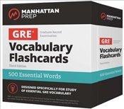 500 Essential Words : GRE Vocabulary Flashcards 3e -