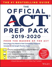Official ACT Prep Pack 2019-2020 with 7 Full Practice Tests -