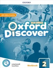 Oxford Discover : Level 2 : Workbook with Online Practice Pack -