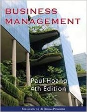 Business Management : 4th Edition - Hoang, Paul