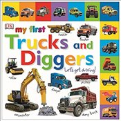 My First Trucks and Diggers Lets Get Driving -