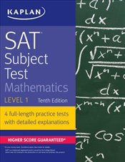 SAT Subject Test Mathematics Level 1 10e -