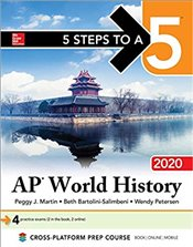 5 Steps to a 5 : AP World History Modern 2020 Edition -