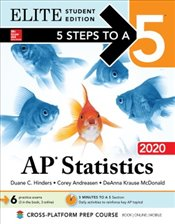 5 Steps to a 5 : AP Statistics 2020 Elite Student Edition - Mcdonald, Deanna Krause