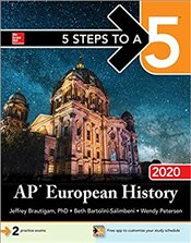 5 Steps to a 5 : AP European History 2020 - Brautigam, Jeffrey