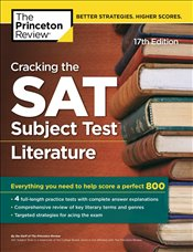 Cracking the SAT Subject Test Literature Prep 17e -