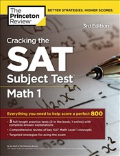 Cracking the SAT Subject Test Math 1 Prep 3e -
