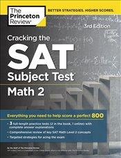 Cracking the SAT Subject Test Math 2 Prep 3e -