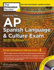 Cracking the AP Spanish Language and Culture Exam with Audio CD 2020 Edition -