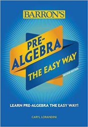 Pre-Algebra : The Easy Way  - Lorandini, Caryl
