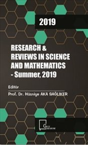 Research and Reviews in Science and Mathematics : Summer 2019 - Kolektif