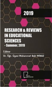 Research & Reviews in Educational Sciences : Summer 2019 - Kolektif