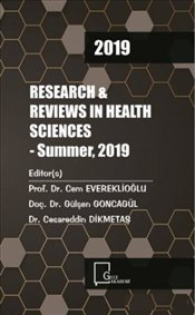 Research & Reviews in Health Sciences : Summer 2019 - Kolektif