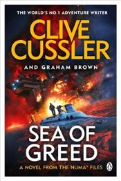 Sea of Greed : Numa Files #16 - Cussler, Clive