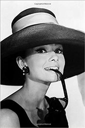 Audrey Hepburn Notebook : Achieve Your Goals, Perfect 120 Lined Pages #2 -