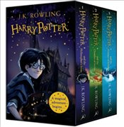 Harry Potter 1-3 Box Set : A Magical Adventure Begins - Rowling, J. K.