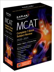 MCAT Complete 7-Book Subject Review 2020-2021 : Online + Book + 3 Practice Tests   -