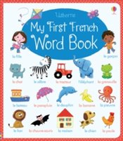 My First French Word Book - Brooks, Felicity