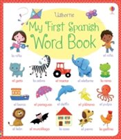 My First Spanish Word Book  - Brooks, Felicity