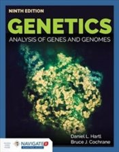 Genetics 9E : Analysis Of Genes And Genomes - Hartl, Daniel L.