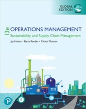 Operations Management 13e PGE : Sustainability And Supply Chain Management - Heizer, Jay