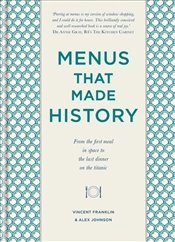 Menus That Made History - Franklin, Vincent