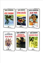 Jack London Klasikleri : 6 Kitap Set 3 - London, Jack