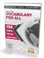 Easy to Learn Vocabulary For All : YDS YÖKDİL YKS-DİL Proficiency - Çam, Muammer