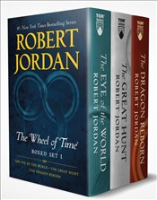 Wheel of Time Premium Boxed Set I : The Eye Of The World, The Great Hunt, The Dragon Reborn  - Jordan, Robert