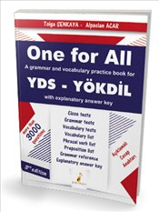 One For All A Grammar and Vocabulary Practice Book For YDS - Şenkaya, Tolga