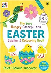 Very Hungry Caterpillars Easter Sticker And Colouring Book - Carle, Eric
