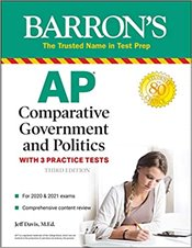 AP Comparative Government and Politics With 3 Practice Tests - Davis, Jeff