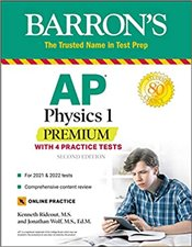 AP Physics 1 Premium With 4 Practice Tests  - Rideout, Kenneth