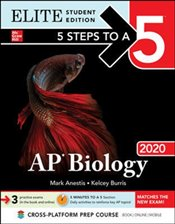 5 Steps to a 5 : AP Biology 2021 : Elite Student Edition - Anestis, Mark