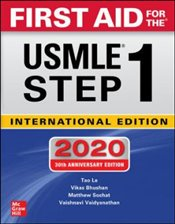 First Aid For The USMLE Step 1 2020 30e IE - Le, Tao