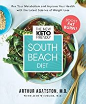 New Keto-Friendly South Beach Diet  - Agatston, Arthur