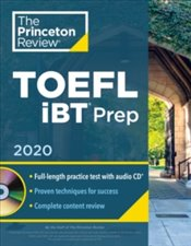 Princeton Review TOEFL Ibt Prep With Audio CD, 2020 -