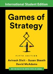 Games of Strategy 5e ISE - Dixit, Avinash K.