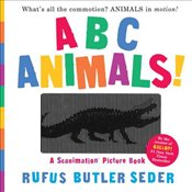 ABC Animals! : A Scanimation Picture Book  - Seder, Rufus Butler